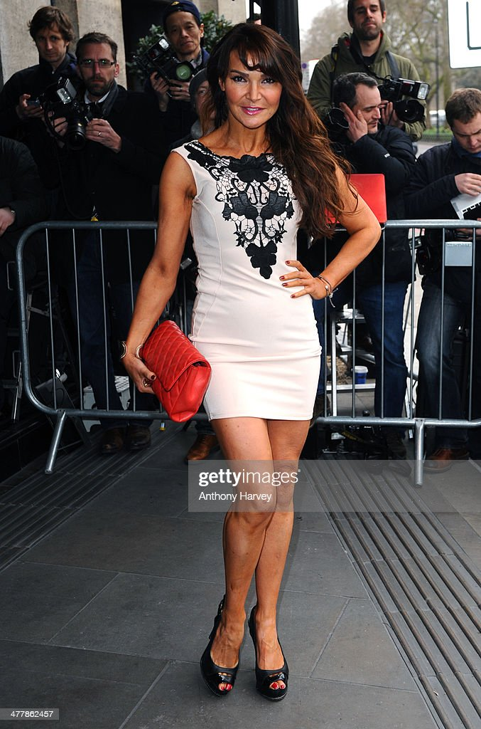 Lizzy Cundy attends the 2014 TRIC Awards at The Grosvenor House Hotel on March 11, 2014 in London, England.