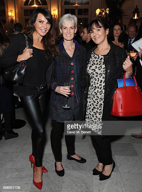 Lizzy Cundy Judy Murray and Arlene Phillips attends an after party following the press night performance of 'Dance 'Til Dawn' at The The Waldorf...