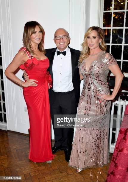 Lizzy Cundy Nicky Johnson and Joy Desmond attend the Together For Short Livessss 'Nutcracker Ball' at One Marylebone on November 20 2018 in London...