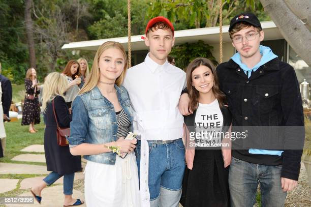 Lizzy Greene Tommy Dorfman Madisyn Shipman and Miles Heizer attend Marc Jacobs Fragrances and Kaia Gerber Celebrate DAISY on May 9 2017 in Beverly...