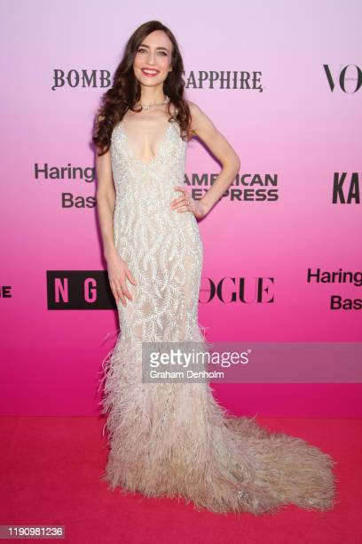Lizzy Jagger attends the NGV Gala 2019 at the National Gallery of Victoria on November 30 2019 in Melbourne Australia