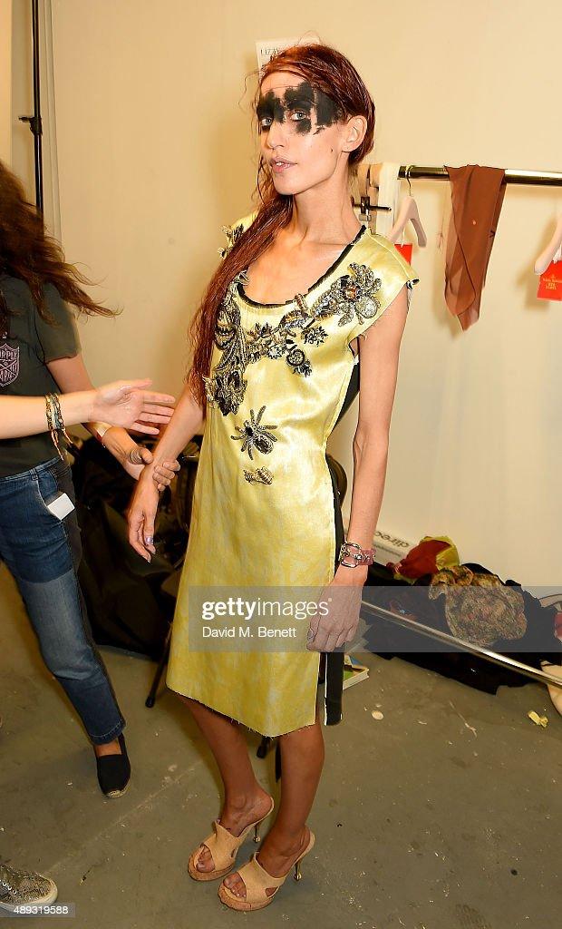Vivienne Westwood Red Label - Backstage - LFW SS16