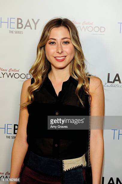 Lizzy Small attends the 5th Annual LANY Entertainment Mixer at St Felix on March 10 2016 in Hollywood California