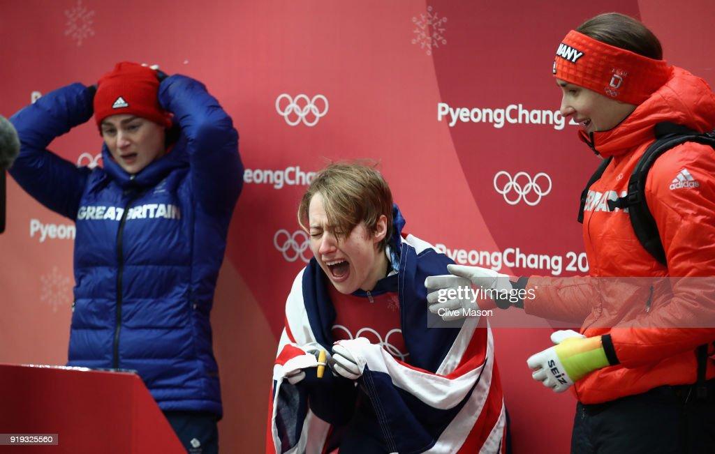 Skeleton - Winter Olympics Day 8