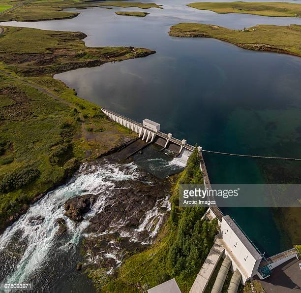 Ljosafoss- Hydroelectric Power Plant, Iceland