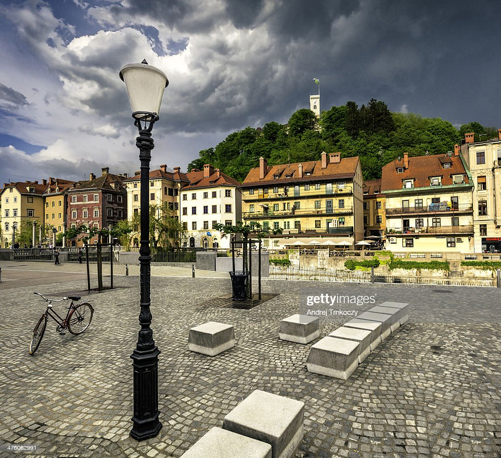 Ljubljana city : Stock Photo