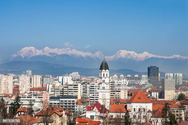Ljubljana in the heart of the Alps