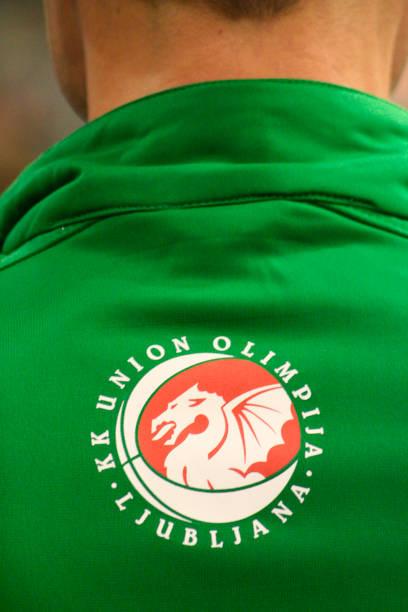 Ljubljana's Union Olimpija basketball team symbol.