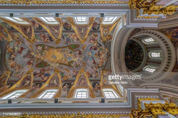 ljubljiana, slovenia - st. nicholas cathedral stock pictures, royalty-free photos & images