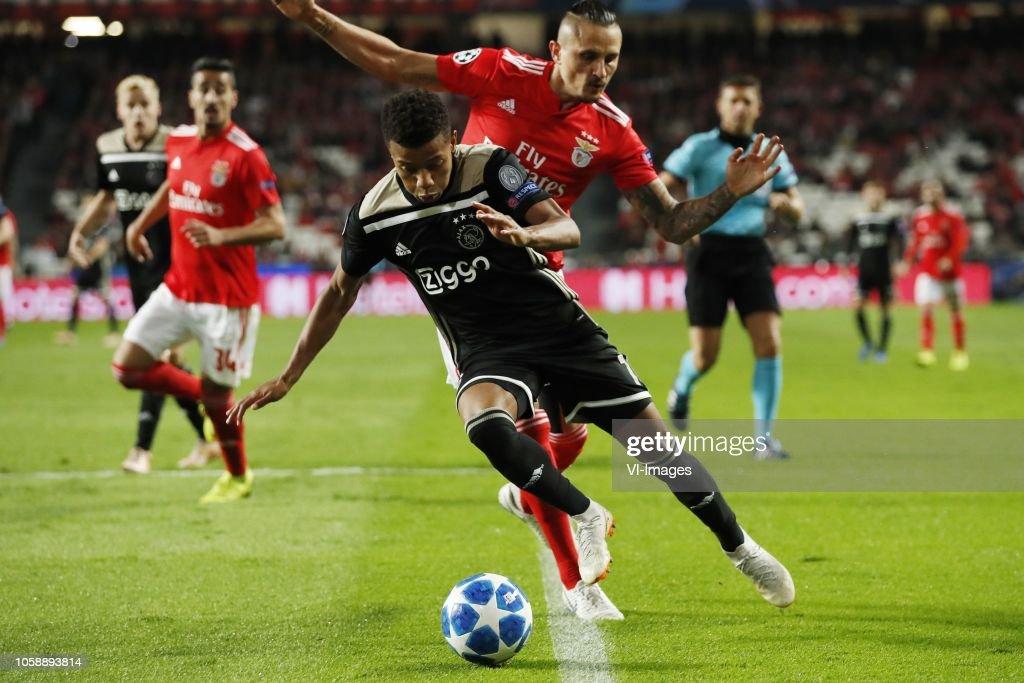 UEFA Champions League'SL Benfica v Ajax' : News Photo