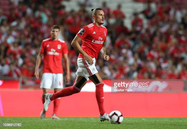 Ljubomir Fejsa of SL Benfica in action during the Liga NOS match between SL Benfica and CD Aves at Estadio da Luz on September 23 2018 in Lisbon...