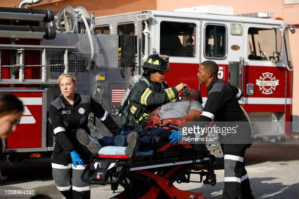 "Ll Be Seeing You"" - The Station 19 crew battles a storage facility fire with growing complications, and Dr. Jackson Avery pops over from Grey Sloan..."