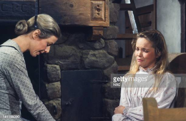 PRAIRIE I'll be Waving as You Drive Away Part 1 Episode 21 Aired Pictured Karen Grassle as Caroline Quiner Holbrook Ingalls Melisssa Sue Anderson as...