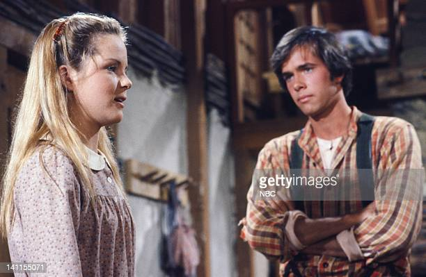 PRAIRIE I'll be Waving as You Drive Away Part 1 Episode 21 Aired Pictured Melisssa Sue Anderson as Mary Ingalls Kendall Robert Kenneally as Seth...