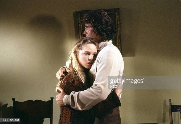 PRAIRIE I'll be Waving as You Drive Away Part 2 Episode 21 Aired Pictured Melissa Sue Anderson as Mary Ingalls Michael Landon as Charles Ingalls...