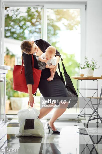 i'll check my diary and get back to you - super mom stock photos and pictures
