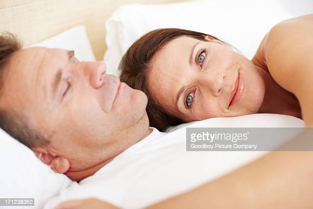 Ich ihm Schlafen Sie ein wenig länger