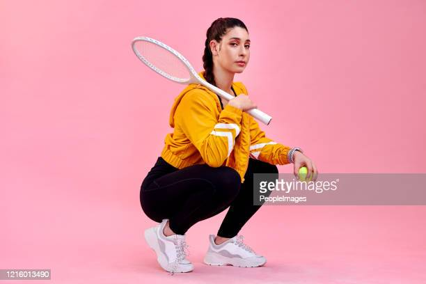 i'll let the racket do the talking - tennis player stock pictures, royalty-free photos & images