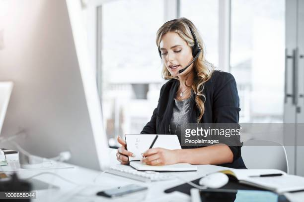 i'll make an extra reminder about that - secretary stock photos and pictures