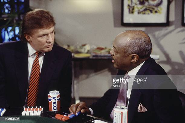 SUSAN I'll See that and Raise you Susan Episode 22 Aired Pictured Donald Trump as Himself Willie Brown as Mayor Willie Brown Photo by Gary Null/NBCU...