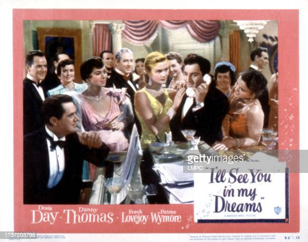 I'll See You In My Dreams lobbycard Patrice Wymore Danny Thomas 1951