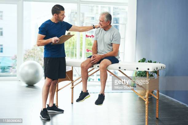 i'll work out something for you - osteopath stock photos and pictures