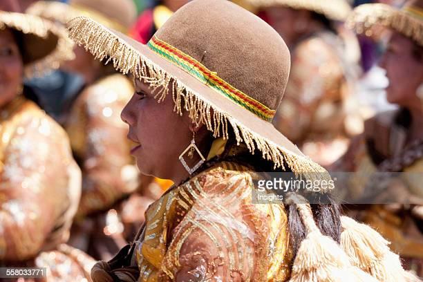 Llamerada Dancer In The Procession Of The Carnaval De Oruro, Oruro, Bolivia