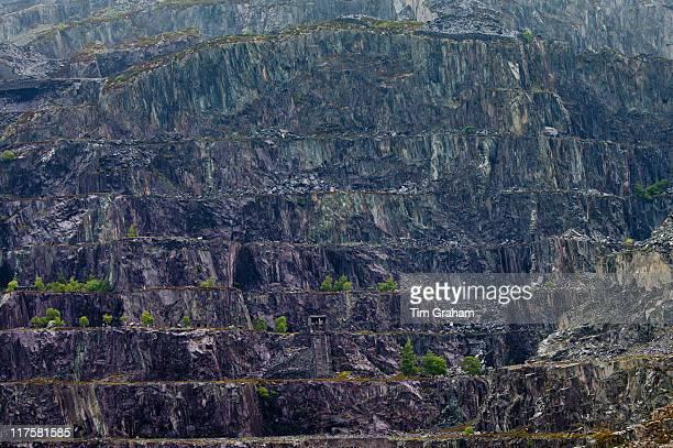 LLanberis Slate Quarry near Llanberis Gwynedd Wales
