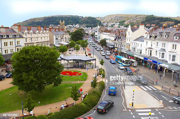 Llandudno Town Centre In Conwy County NorthWales
