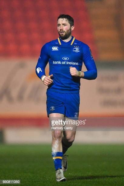Llanelli United Kingdom 9 March 2018 Barry Daly of Leinster during the Guinness PRO14 Round 17 match between Scarlets and Leinster at Parc Y Scarlets...