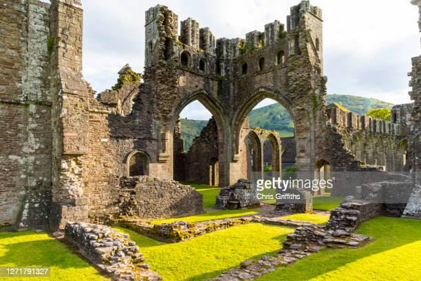 llanthony priory, wales, uk - religion stock pictures, royalty-free photos & images