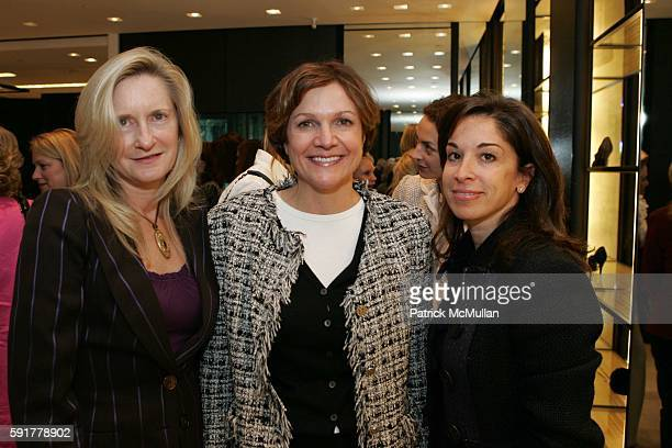 Llewellyn Sinkler Leslie Stevens and Betsy Cox attend The Camellia Luncheon Sponsored by Chanel to benefit The New York Botanical Garden at Chanel on...