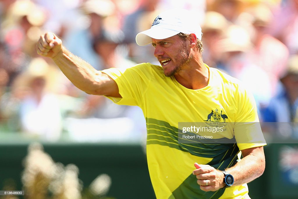 Davis Cup - Australia v USA : News Photo