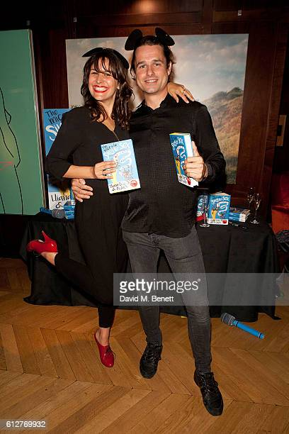 Lliana Bird and Dr Jack Lewis attend the launch of new book 'The Mice Who Sing For Sex And Other Weird Tales From The World Of Science' by Lliana...
