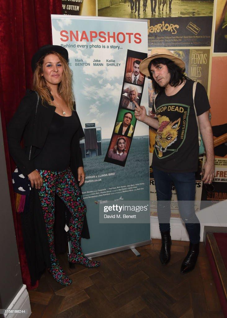 "Lliana Bird Debuts Short Film ""Snapshots"" At Everyman Maida Vale : News Photo"