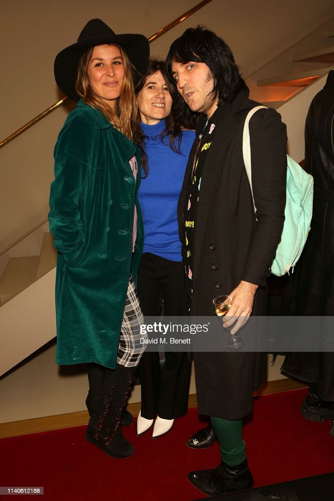 Bella Freud 'Happening' Poetry Session : News Photo
