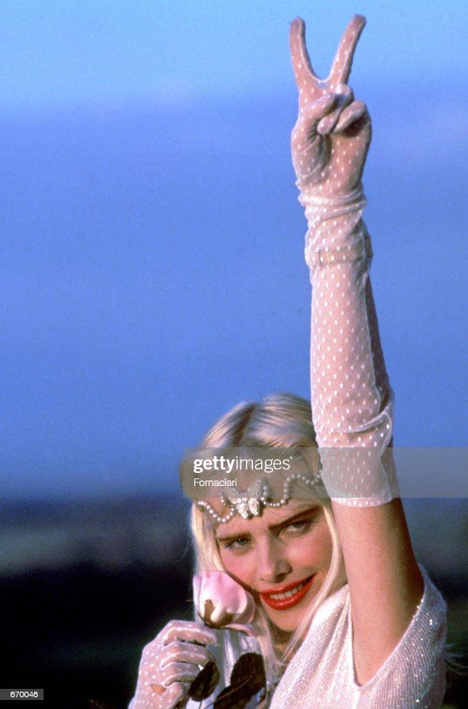 Llona Staller, also known as Cicciolina... : News Photo