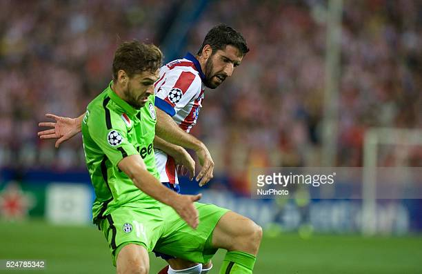 Llorente Juventus During The Group A Champions League soccer match Between Atletico Madrid and Juventus at the Vicente Calderon stadium in Madrid...