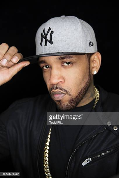 Lloyd Banks of GUnit is photographed for USA Today on February 19 2015 in New York City