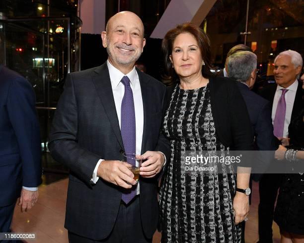 Lloyd Blankfein and Laura Blankfein attend the Lincoln Center Fall Gala Honoring John E Waldron on November 06 2019 in New York City