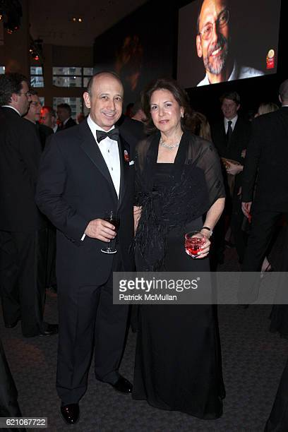 Lloyd Blankfein and Laura Blankfein attend TIME MAGAZINE'S 100 MOST INFLUENTIAL PEOPLE IN THE WORLD at Jazz @ Lincoln Center on May 8 2008 in New...