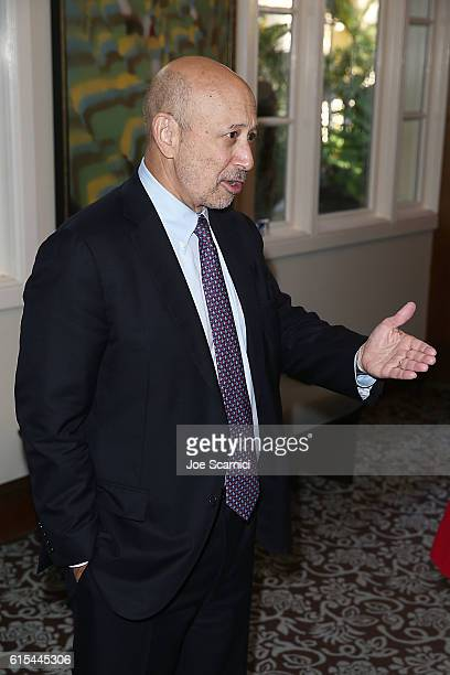 Lloyd Blankfein attends the Fortune Most Powerful Women Summit 2016 at RitzCarlton Laguna Niguel on October 18 2016 in Dana Point California