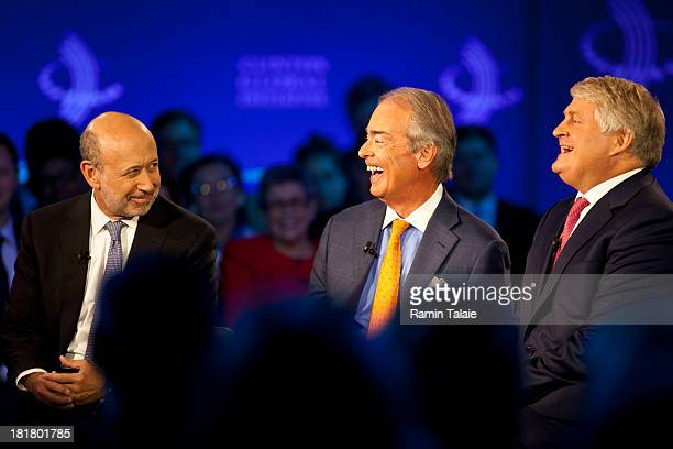 Lloyd Blankfein Chairman and CEO of The Goldman Sachs Group Inc Jim Rogers Chairman of Duke Energy Corporation and Denis O'Brien Chairman of Digicel...