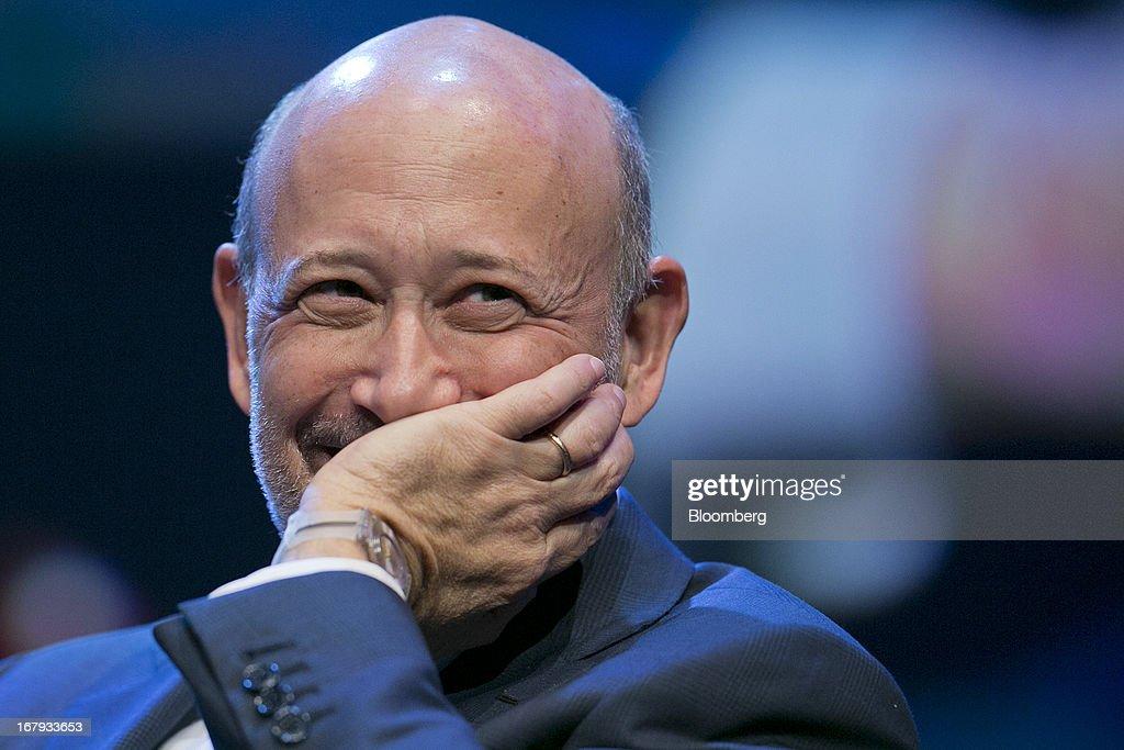 Goldman Sachs CEO Lloyd Blankfein Addresses The Investment Company Institute Meeting