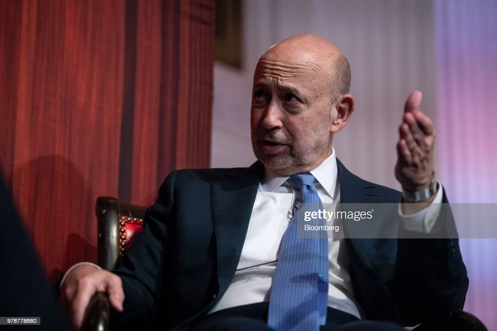 Goldman Sachs Chairman And Chief Executive Officer Lloyd Blankfein Speaks At ECNY Luncheon