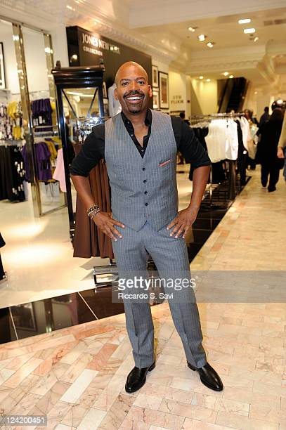 Lloyd Boston attends Fashion Night Out at Lord Taylor on September 8 2011 in New York City