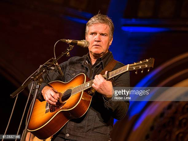 Lloyd Cole Performs at the Union Chapel on October 3 2016 in London England