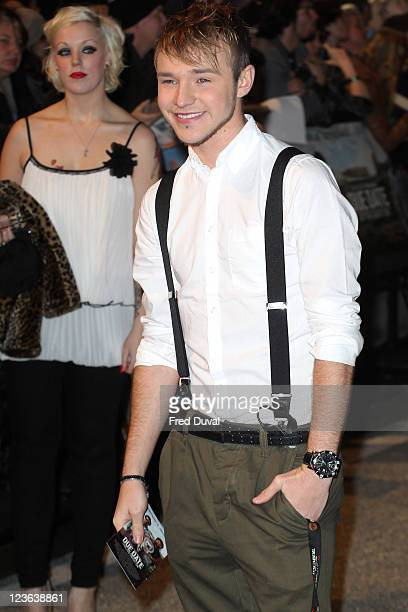 Lloyd Daniels arrives at the European premiere of 'Due Date' at Empire Leicester Square on November 3 2010 in London England