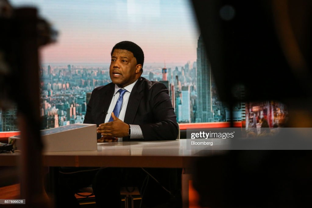 Lloyd Dean, chief executive officer of Dignity Health, speaks during a Bloomberg Television interview in New York, U.S., on Thursday, Oct. 5, 2017. Dean discussed the debate over health care and the uncertainty over Obamacare's future. Photographer: Christopher Goodney/Bloomberg via Getty Images