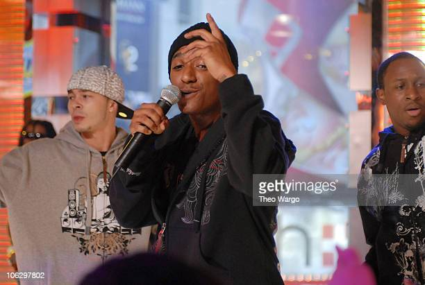 """Lloyd during Ashley Tisdale, Fergie, Lloyd and Timbaland Visit MTV's """"TRL"""" - February 7, 2007 at MTV Studios in New York City, New York, United..."""